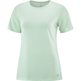 Salomon Sight Classic SS Tee Women, opal blue